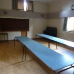Kimberley Room at Tewin Village Hall adjoins to the kitchen with bar serving area