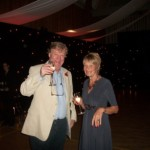 Professional party organisers transformed Tewin Memorial main hall into party venue