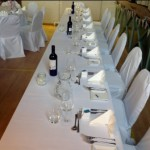 Top Table at Tewin Village Hall