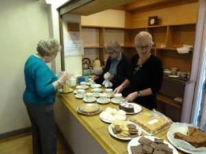 Bar serving area in Kimberley Room at Tewin Memorial Hall